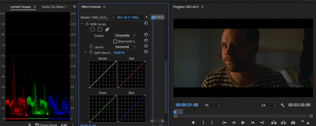 how to color grade